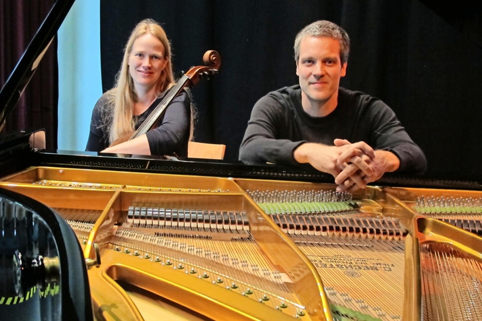 Vorfrühlingskonzert in der Orangerie mit Verena Schluß und Manfred Schmidt